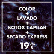 Color Lavado Botox Secado